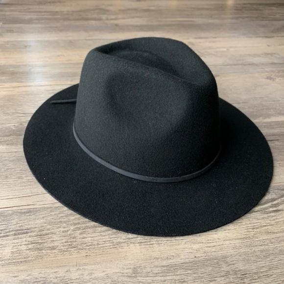 e2b7d7c7506 Brixton Accessories   Wesley Wool Fedora Hat Black   Poshmark